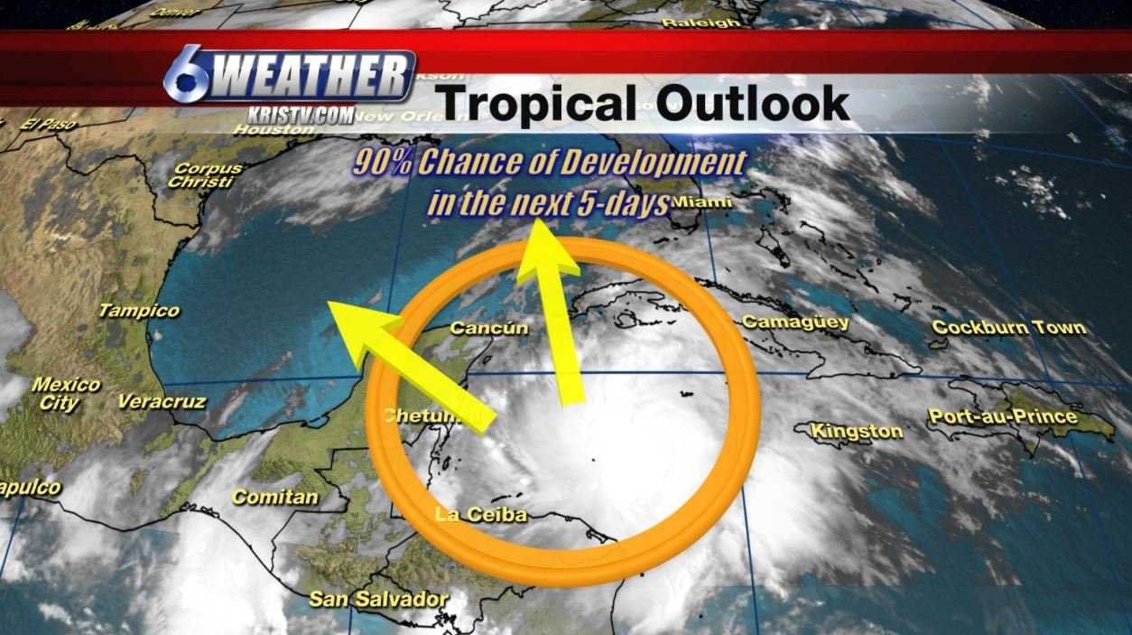 Tropical Outlook as of 4:30 pm Sunday afternoon