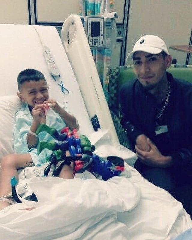 Jesus Cruz rescued four-year-old Joe Perez from a tragic car accident.