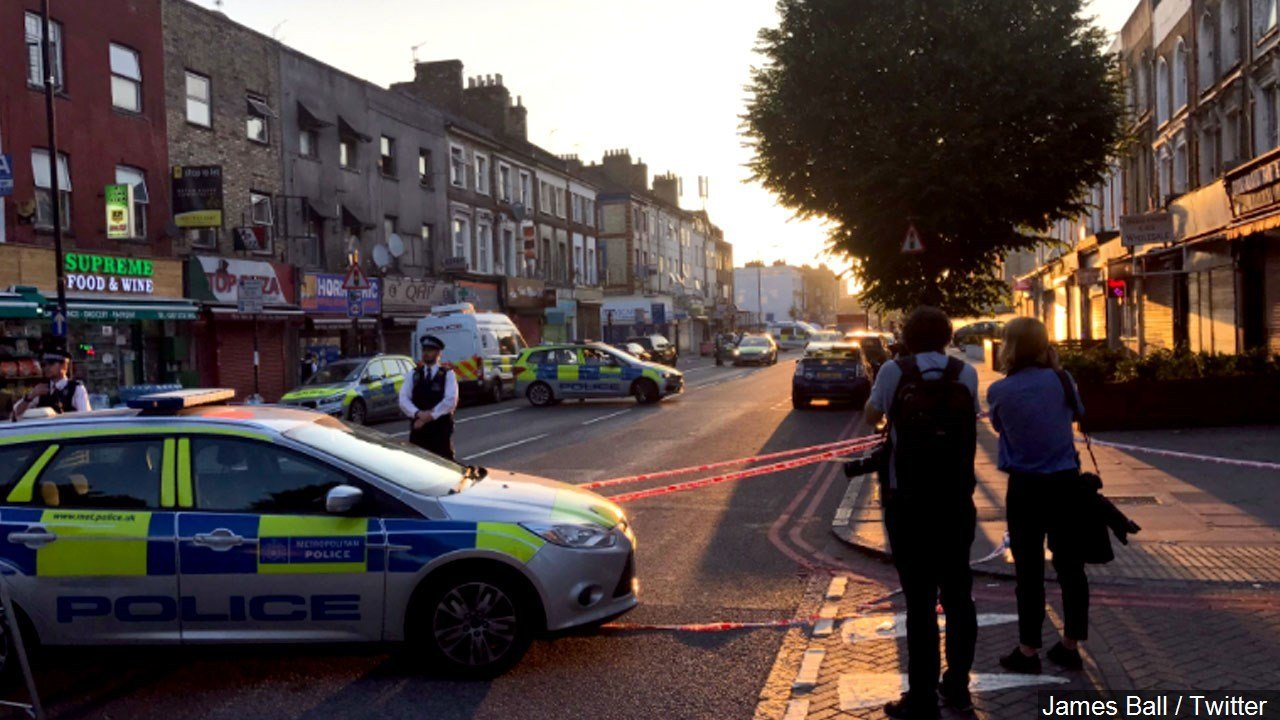 Driver plows into crowd outside London mosque, injuring 10