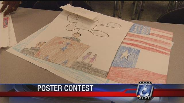 Students from around Corpus Christi took part in a poster contest celebrating emancipation in Texas.