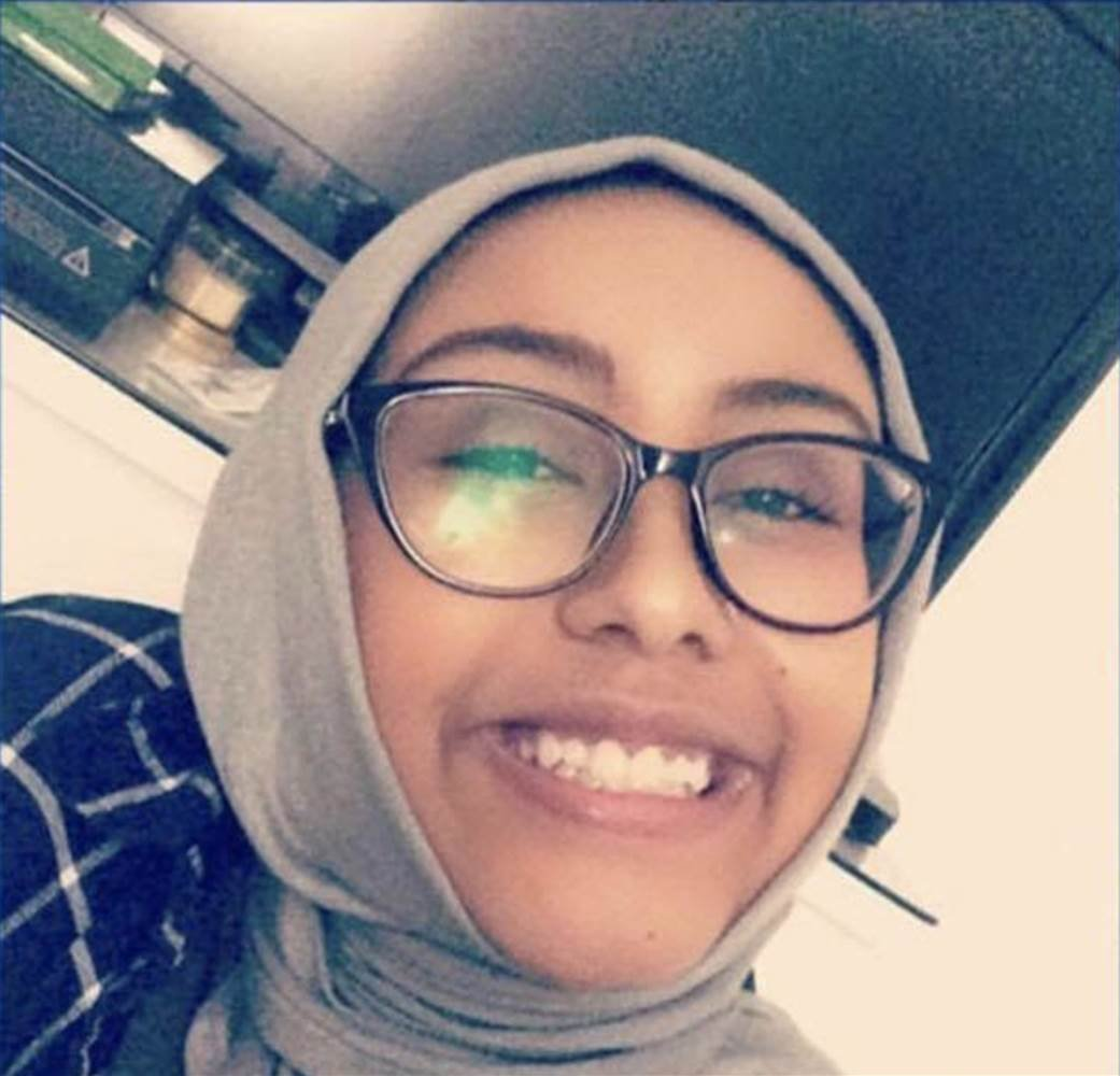 Nabra, the 17-year-old Virginia girl who was found dead on June 18. Photo courtesy LaunchGood