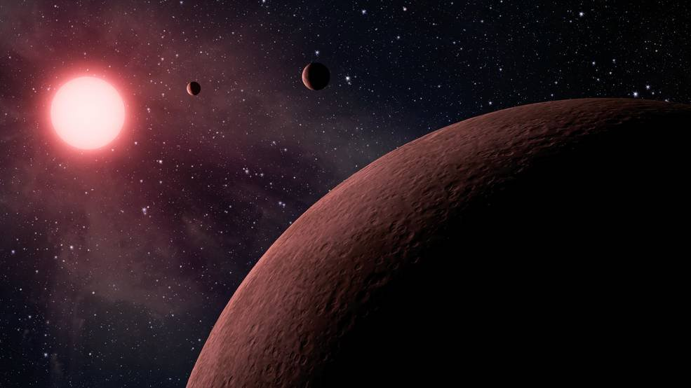 NASA's Kepler space telescope team has identified more than 200 new planet candidates, 10 of which are about the size of Earth and are in the habitable zone of their star. Photo courtesy NASA/JPL-Caltech