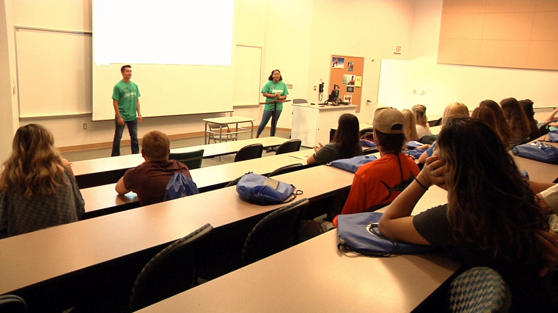 "Texas A&M-Corpus Christi held its first ""New Student Orientation"" for incoming freshmen for the Fall 2017 semester Monday."