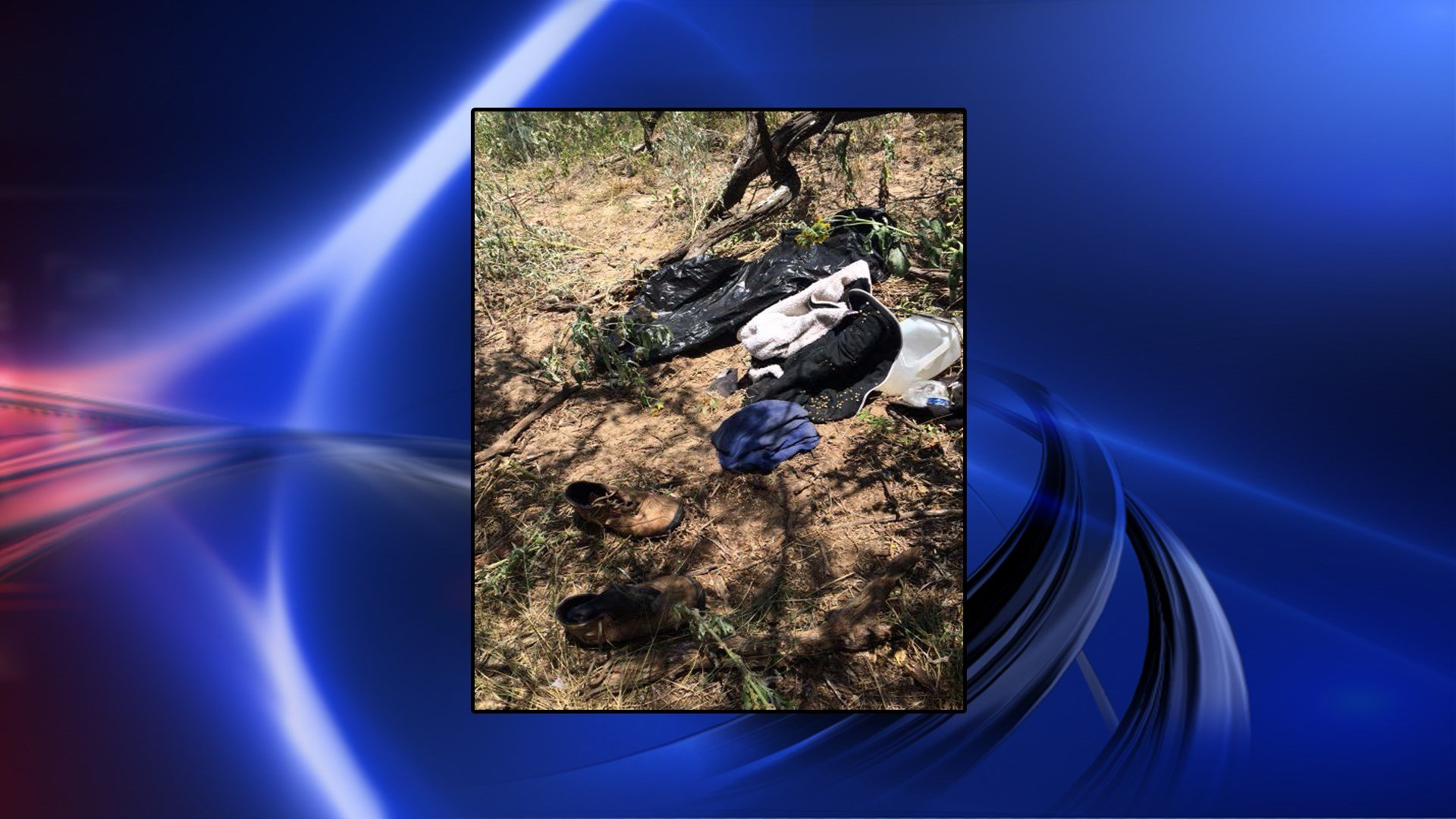 These items belonged to an undocumented immigrant who is believed to have succumbed to the heat