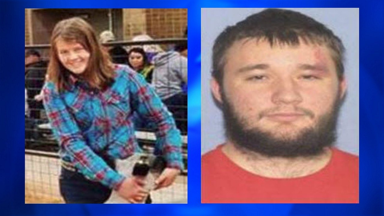Authorities say Stormie Clemmer (left) may be in grave or immediate danger. Her suspected abductor, Andrew Akers (right) was last seen in a black 2000 model Ford Ranger. Photo: Brewster County Sheriff's Office.
