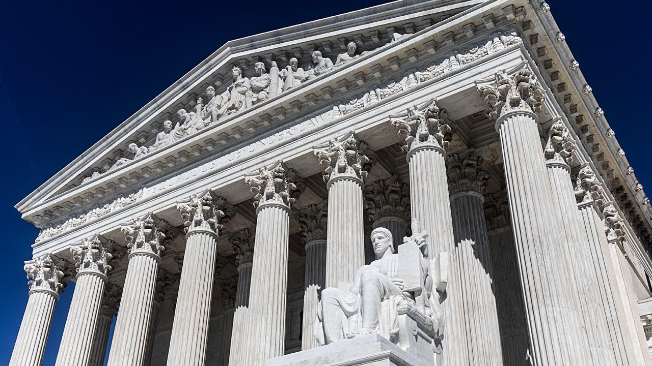 PHOTO: US Supreme Court Building in Washington DC, Photo Date: 4/9/2017