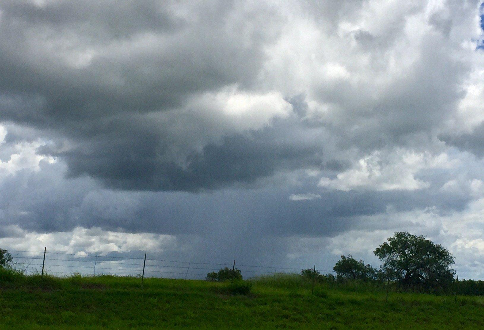 Rain Clouds in the Coastal Bend