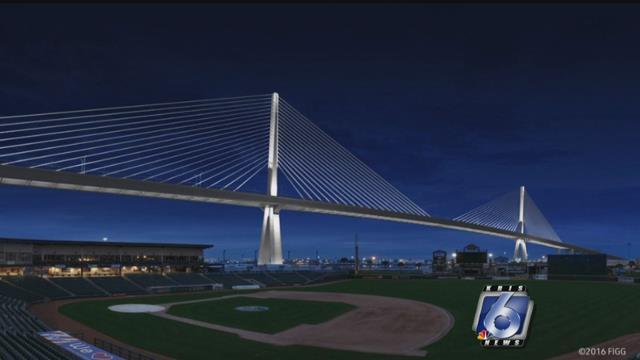 Rendering of new Harbor Bridge. (File photo)