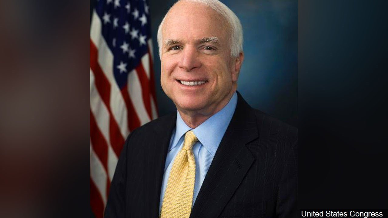 Sen. John McCain was recovering Saturday after a minor surgery to remove a blood clot. Photo: United States Congress