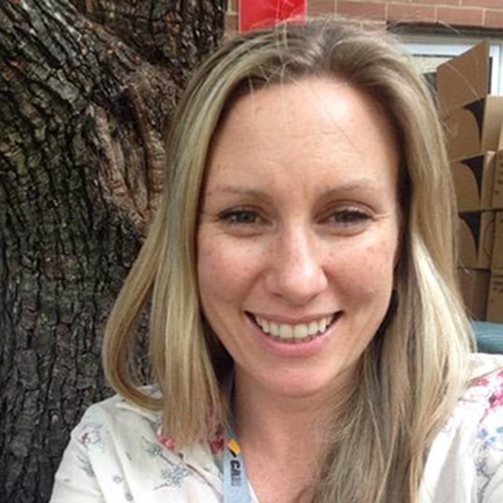 Justine Damond, an Australian woman who was shot dead by police in Minneapolis Saturday. Photo: Twitter.