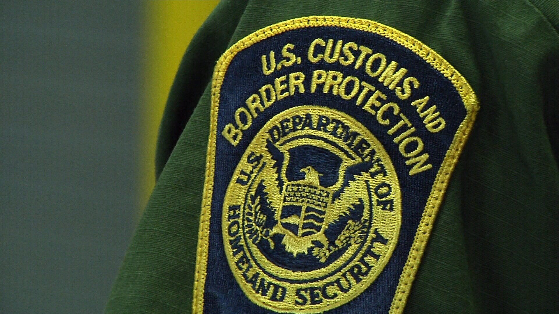 A U.S. Border Patrol officer noticed bulges under a man's clothes while inspecting a bus at the Sarita checkpoint.