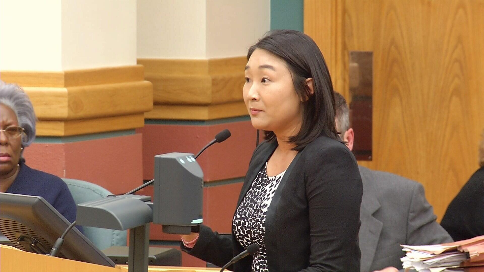 Municipal Court Judge Young Min Burkett.