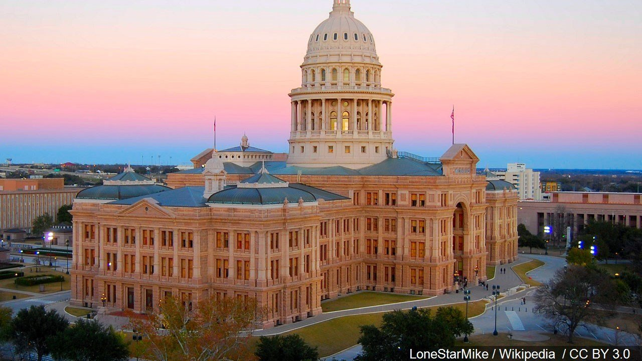 PHOTO: Texas State Capitol in Downtown Austin, Texas