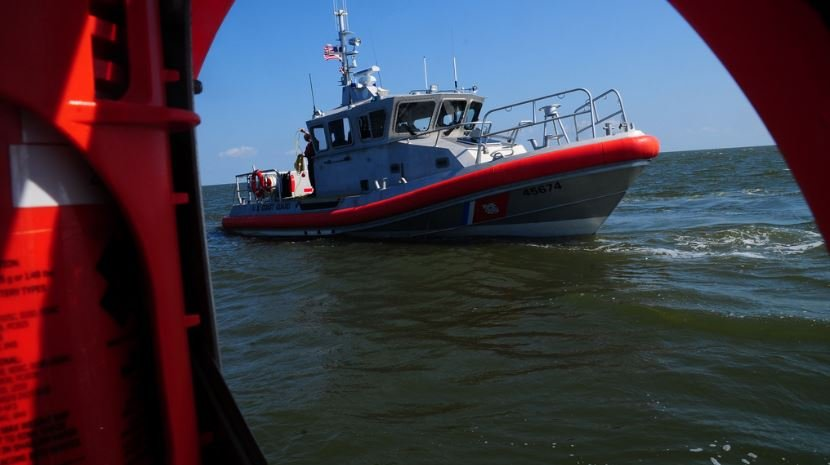 A U.S. Coast Guard response boat. (Courtesy U.S. Coast Guard)
