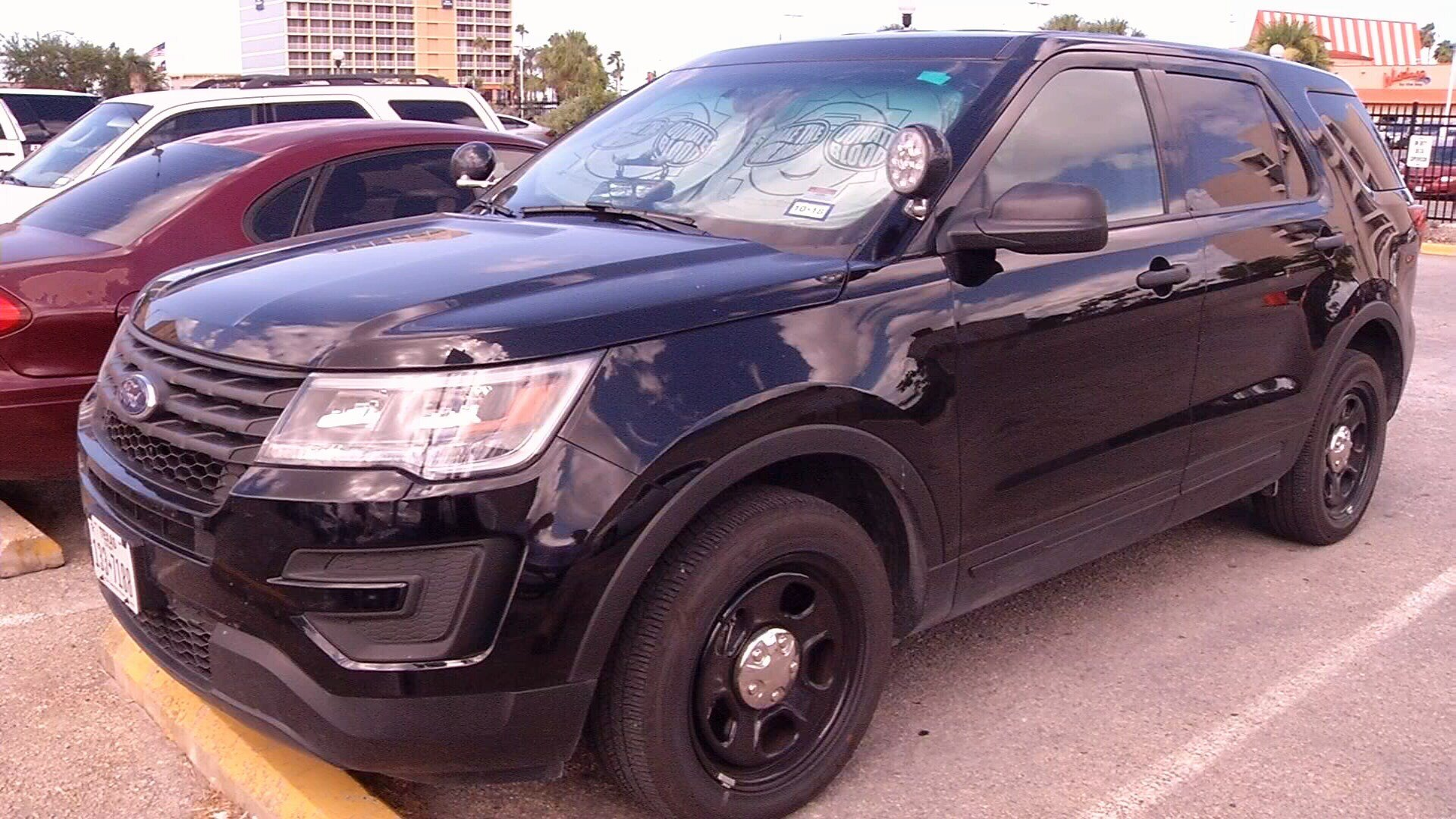 Just an example of an unmarked police unit.