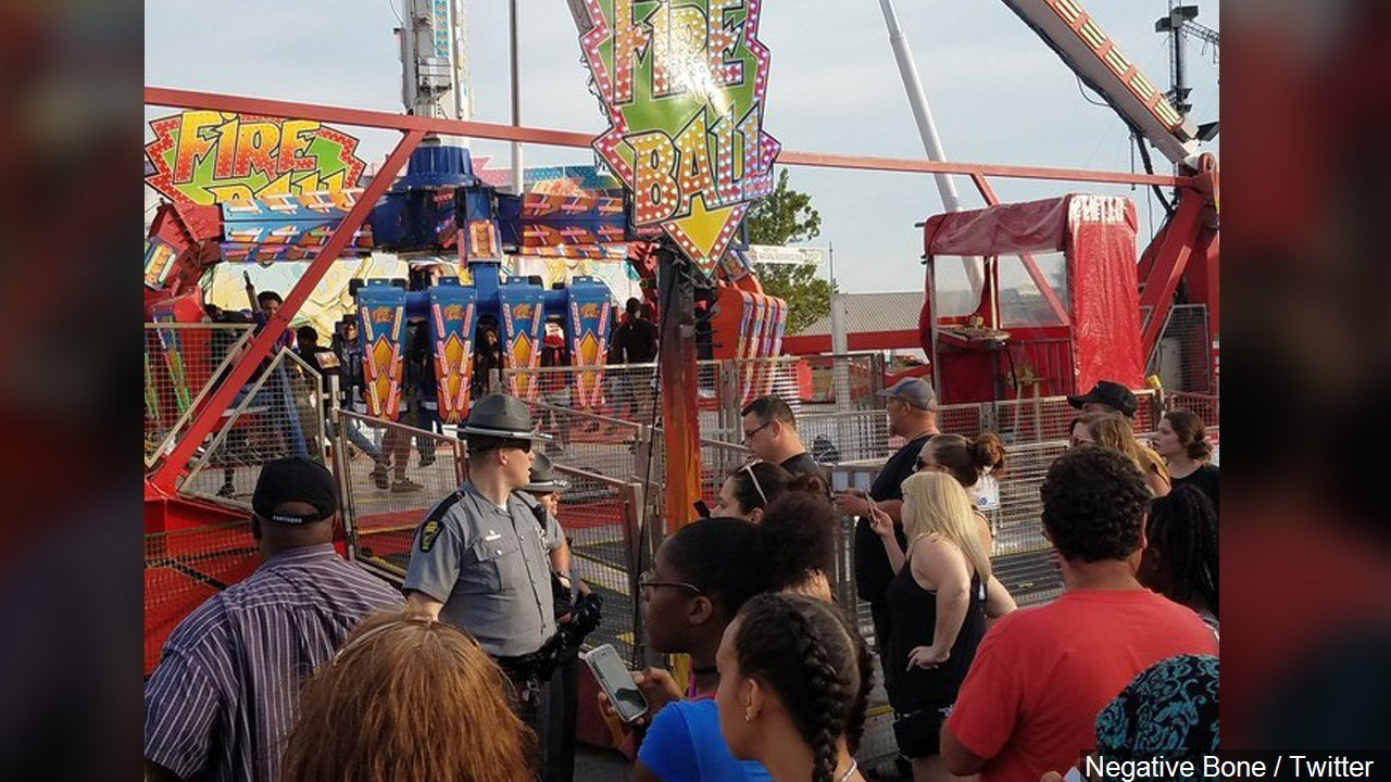 PHOTO: 1 dead, 7 injured after ride malfunctions at Ohio State Fair, Photo Date: 7/26/17