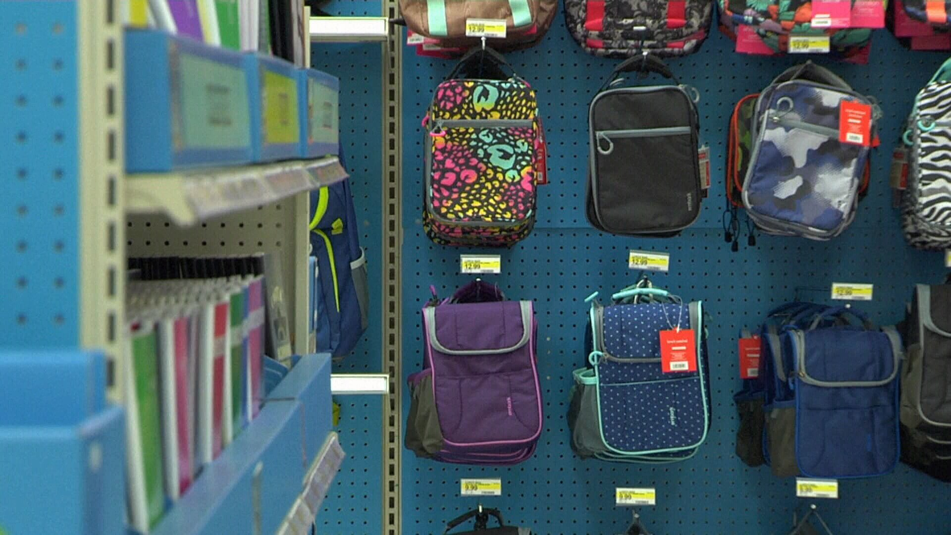 Make your school-supplies list for tax-free weekend
