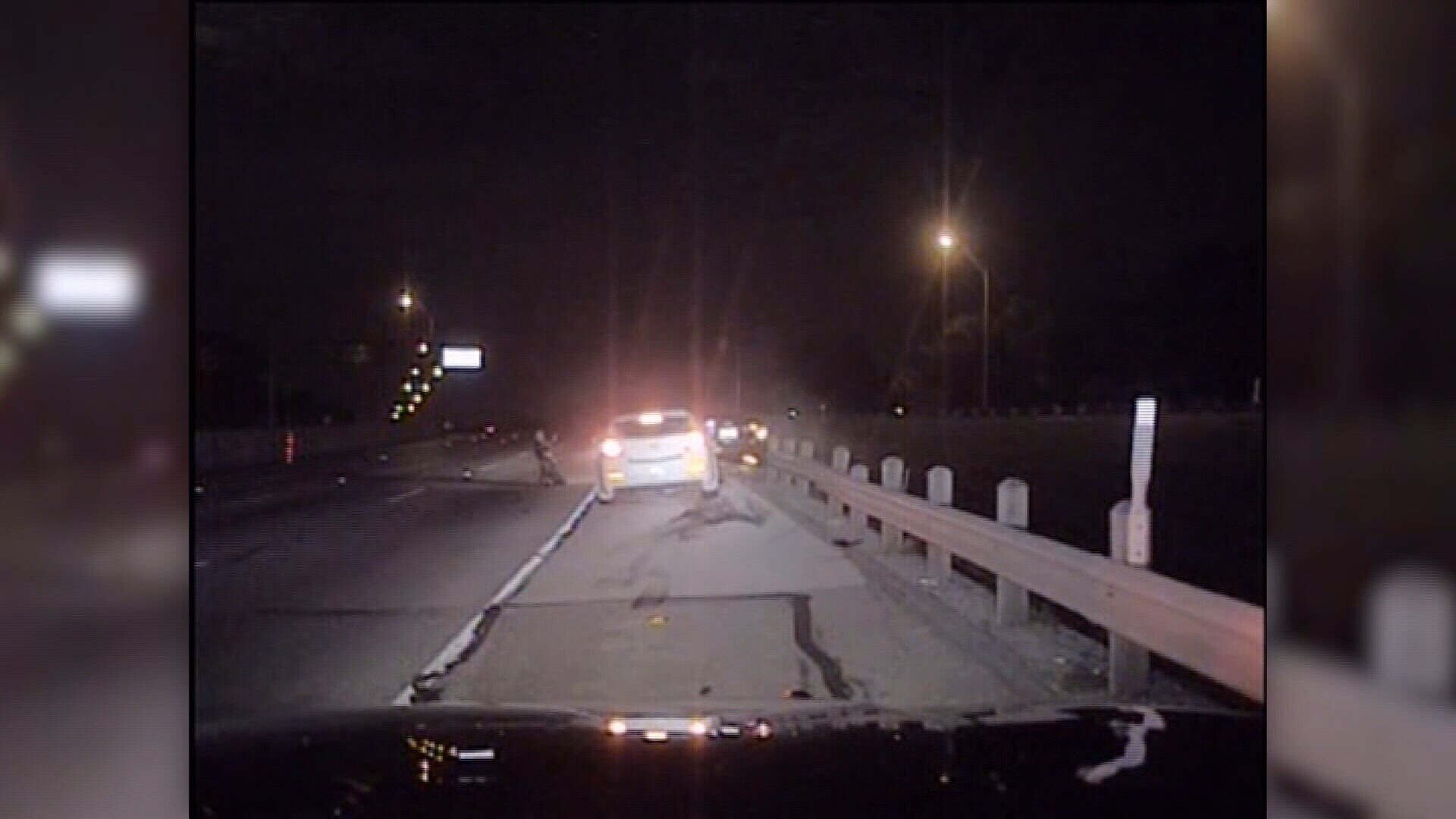DASHCAM: Texas officer hit by drunk driver while conducting traffic stop