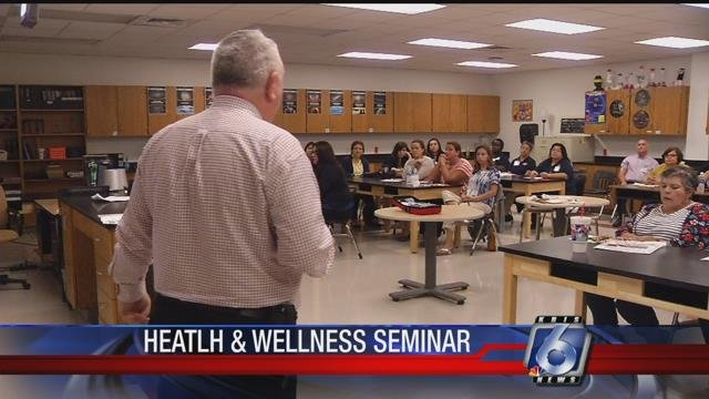 Educators took part in a special event to learn about health and wellness topics.