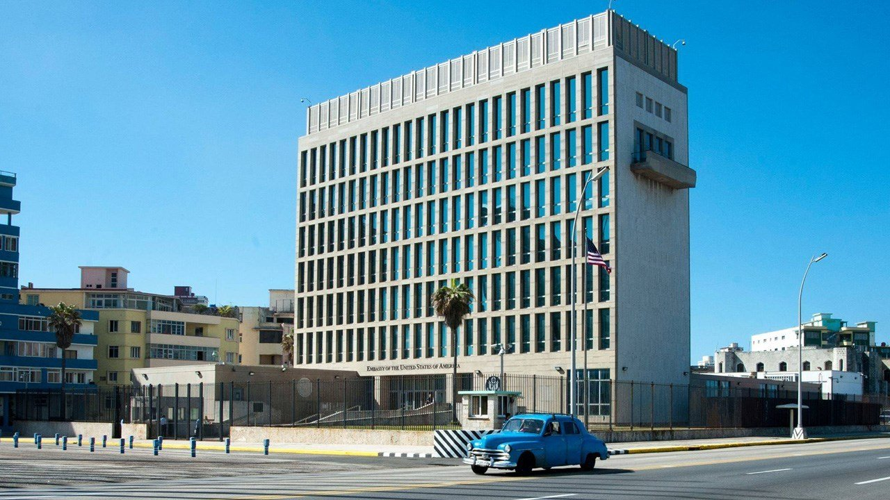The U.S. Embassy in Cuba, shown here. Photo: U.S. Embassy in Cuba / Facebook