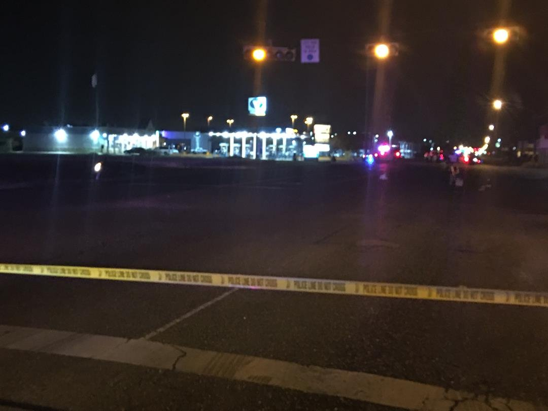 The intersection of Ayers Street and McArdle Road was closed down after a fatal crash early Saturday morning.