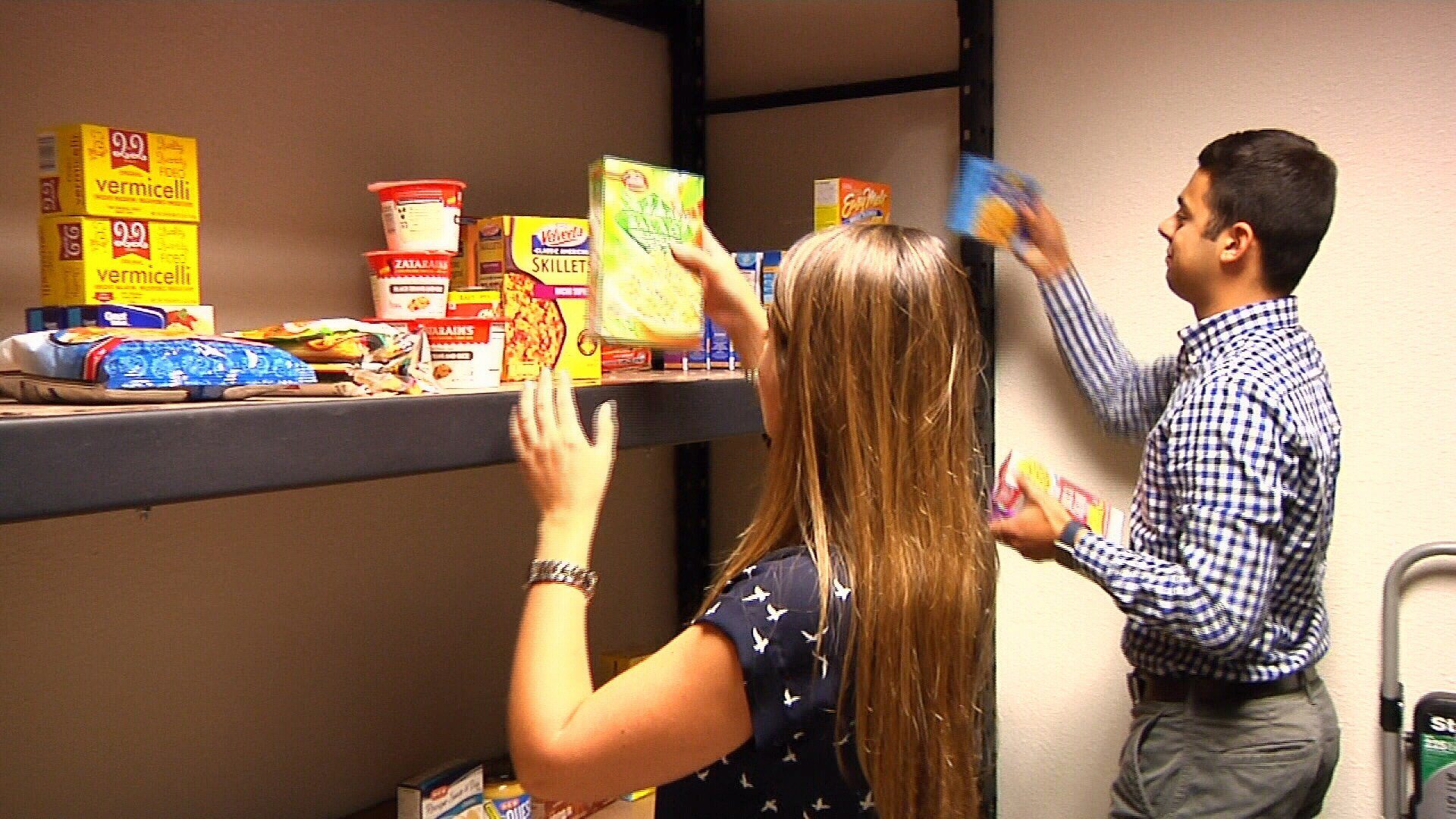 The on-campus pantry will provide free food to students in need.