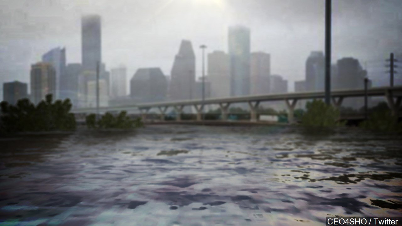 STILL UNTITLED: Floods from Hurricane Harvey devastate Houston