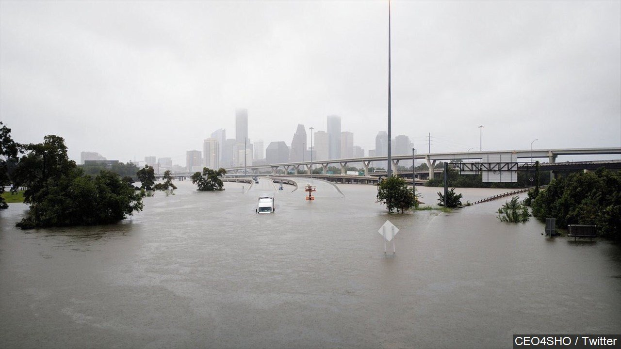 PHOTO: Catastrophic Flooding in Houston Texas from Tropical Storm Harvey, Photo Date: 8/27/17