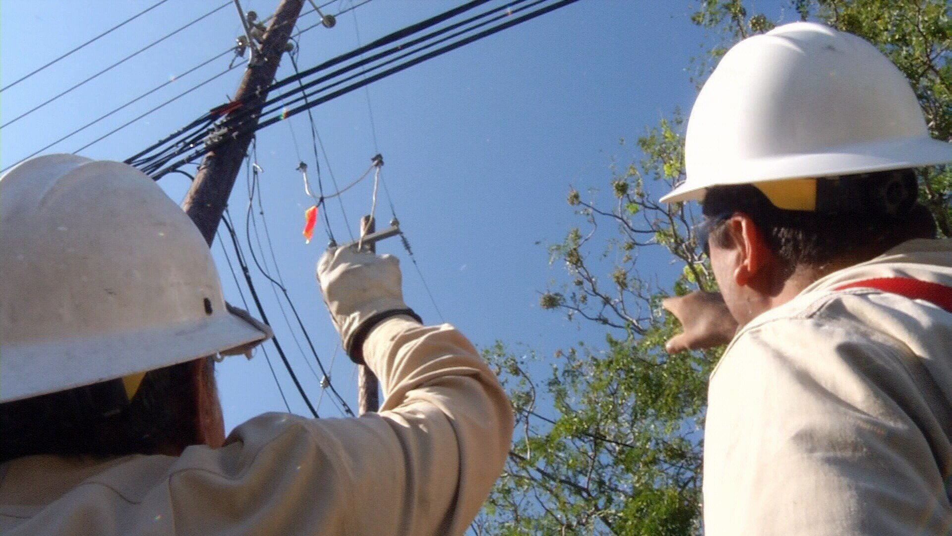 AEP Texas has crews from all over the United States helping to restore power here in the Coastal Bend.