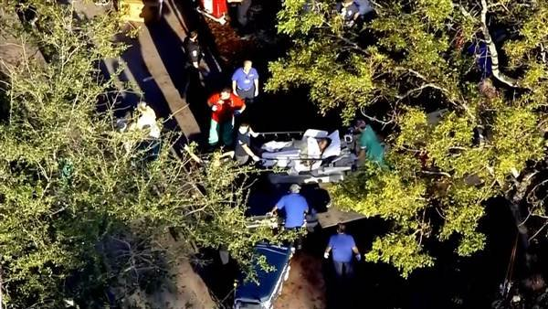 The Rehabilitation Center at Hollywood Hills in Hollywood, Fla., was evacuated on Sept. 13, 2017. Courtesy: NBC News