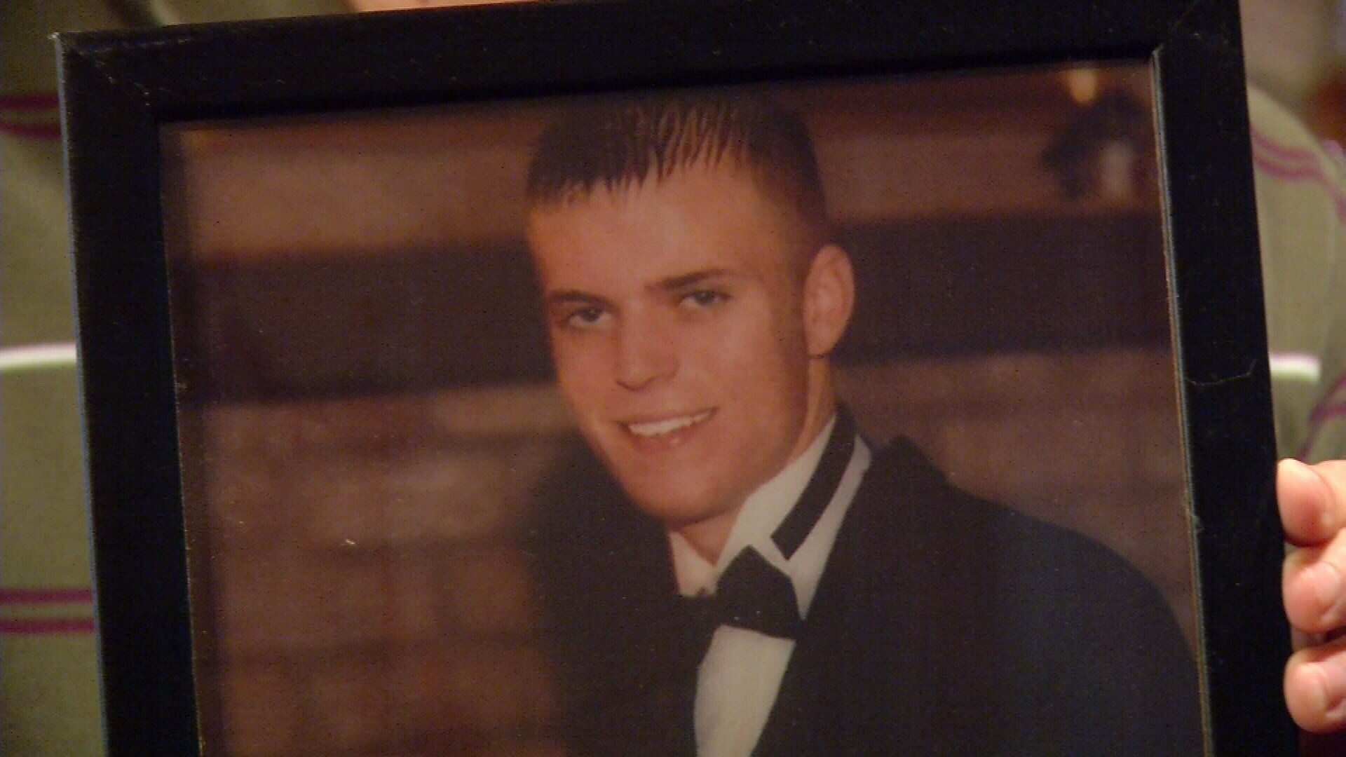 High school seniors Steven Jackson (pictured here) and Charles Avalos were killed in a car crash on I-37 when they were returning from a camping trip in 2000.