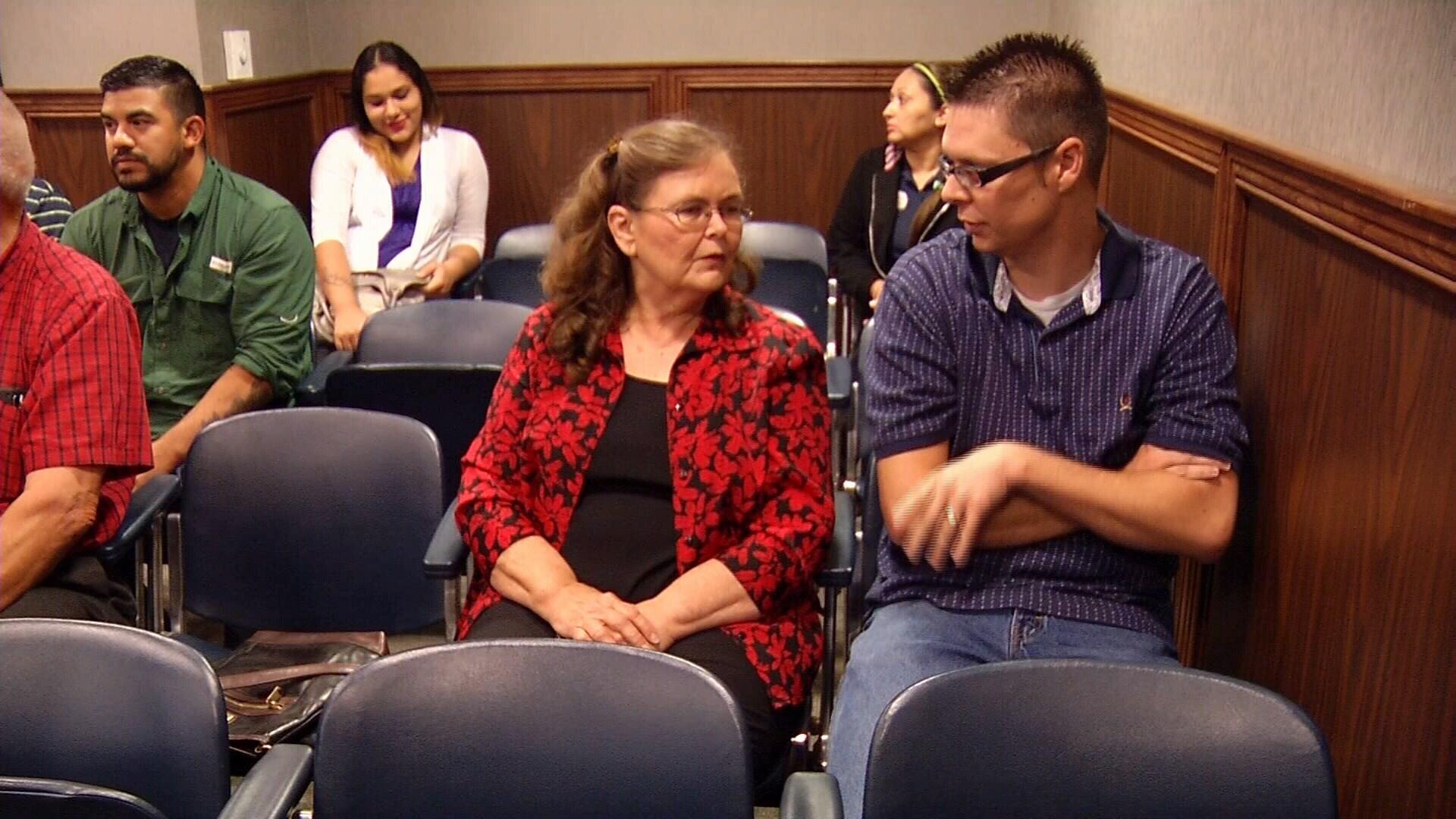 Steven Jackson's family attended Rodriguez's hearing.