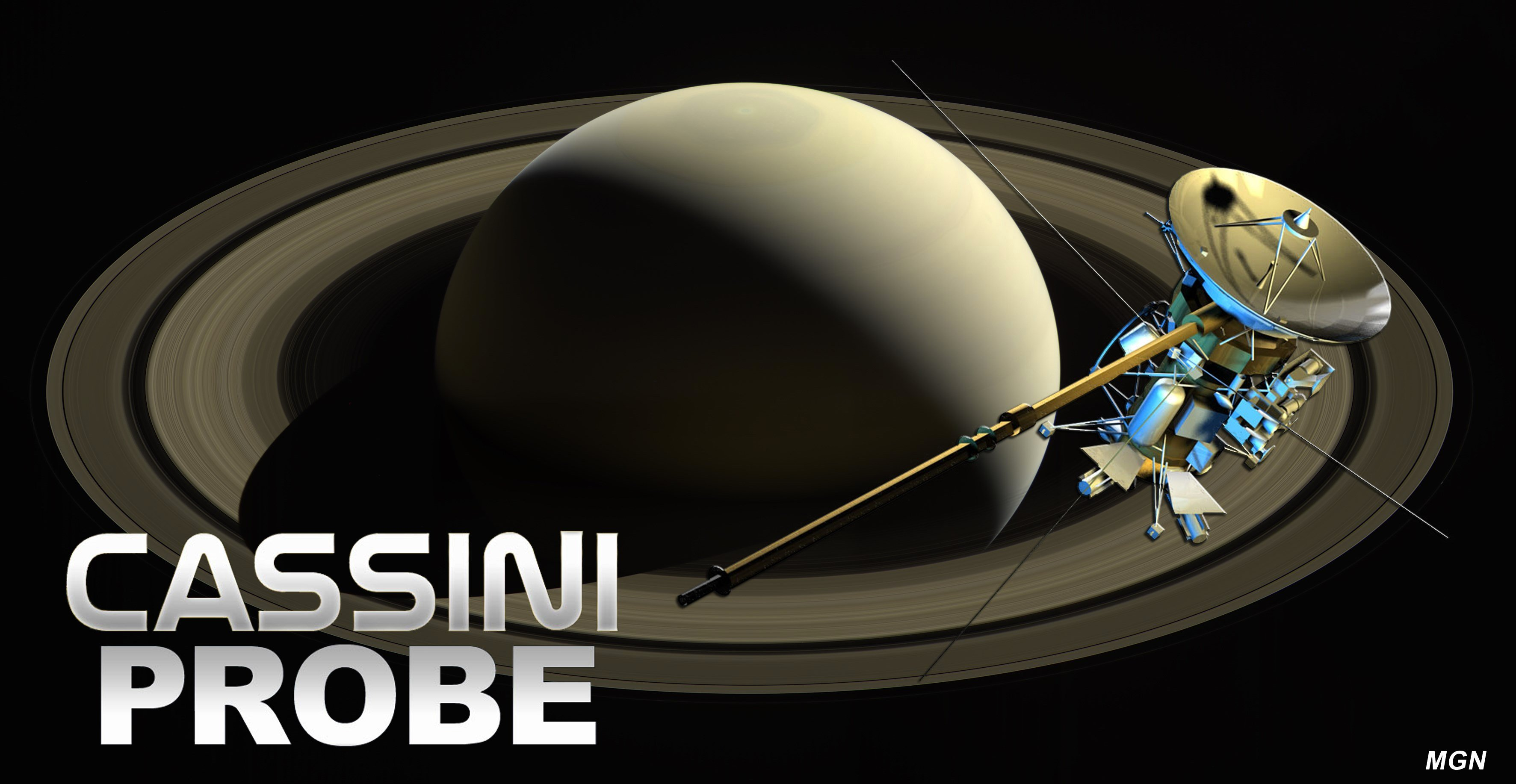 Cassini on course into Saturn's atmosphere