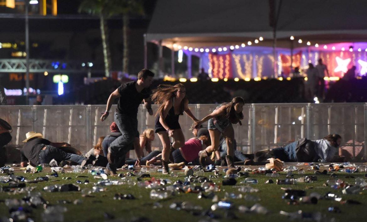Las Vegas police hunt 'active shooter' at Mandalay Bay casino