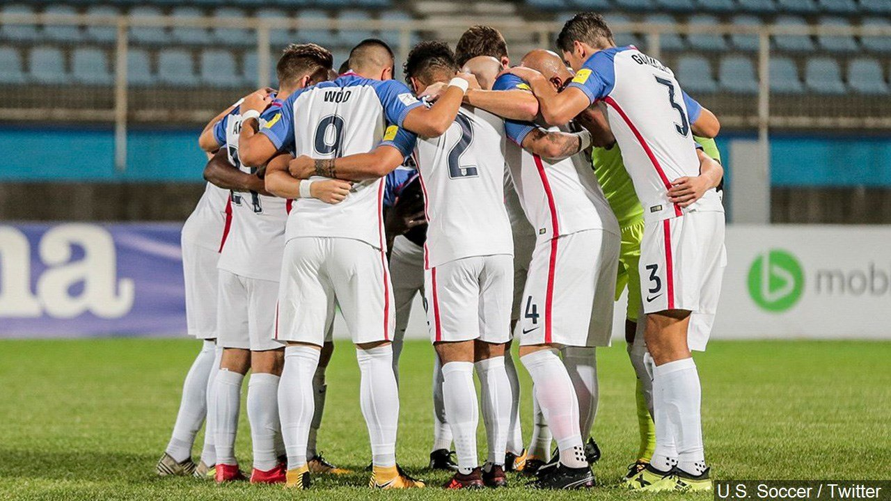 PHOTO: United States Men's Soccer team loss to Trinidad and Tobago eliminates them from the 2018 World Cup, Photo Date: 10/10/17