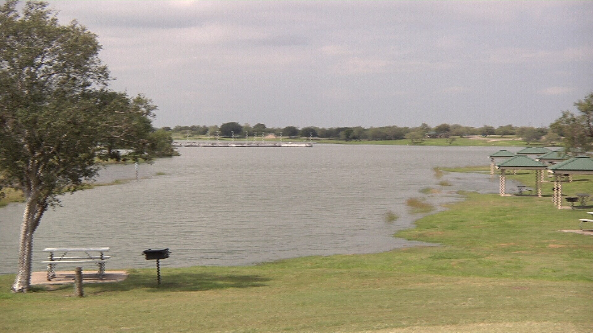 Lake Corpus Christi is at full capacity for the first time since 2015.