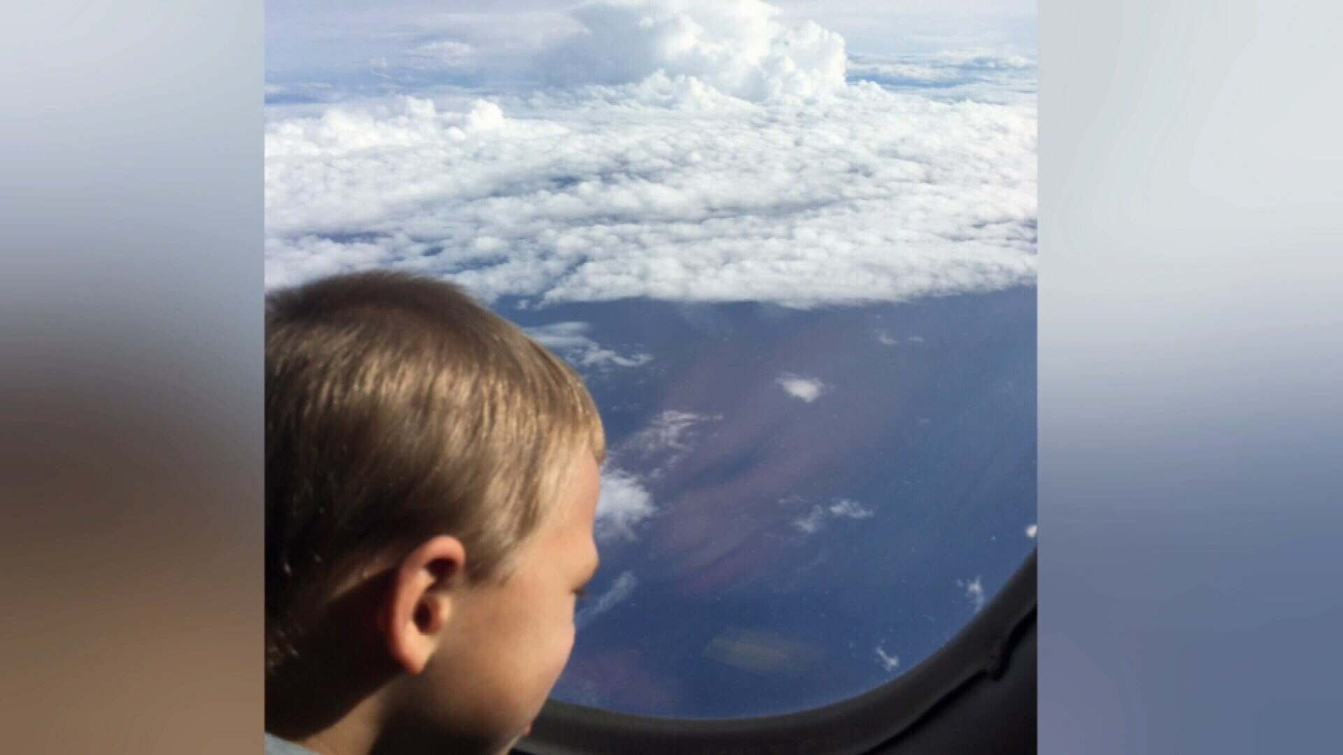 Cestero's wife and two young children flew to Corpus Christi on a Border Protection plane, leaving behind their flooded home, damaged school, and devastated Island.