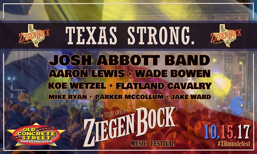 ZiegenBock2017, happening Sunday, October 15, will benefit Rockport schools, which were severely damaged by Hurricane Harvey.