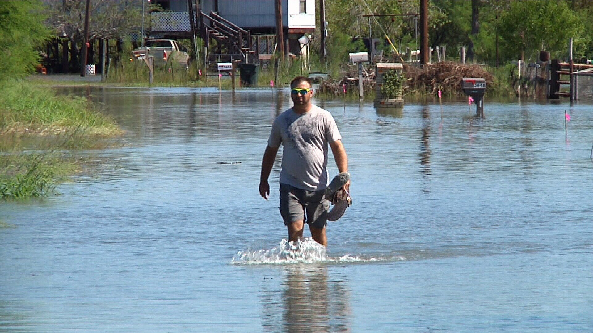 Homeowners near the Nueces River are dealing with the fifth day of flooding as water is released from the Wesley Seale Dam.