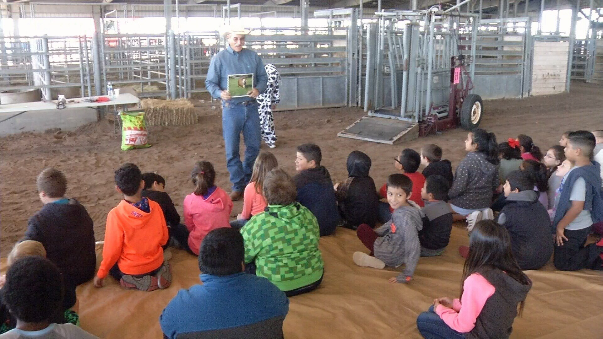 Area experts teach students the importance of agriculture.