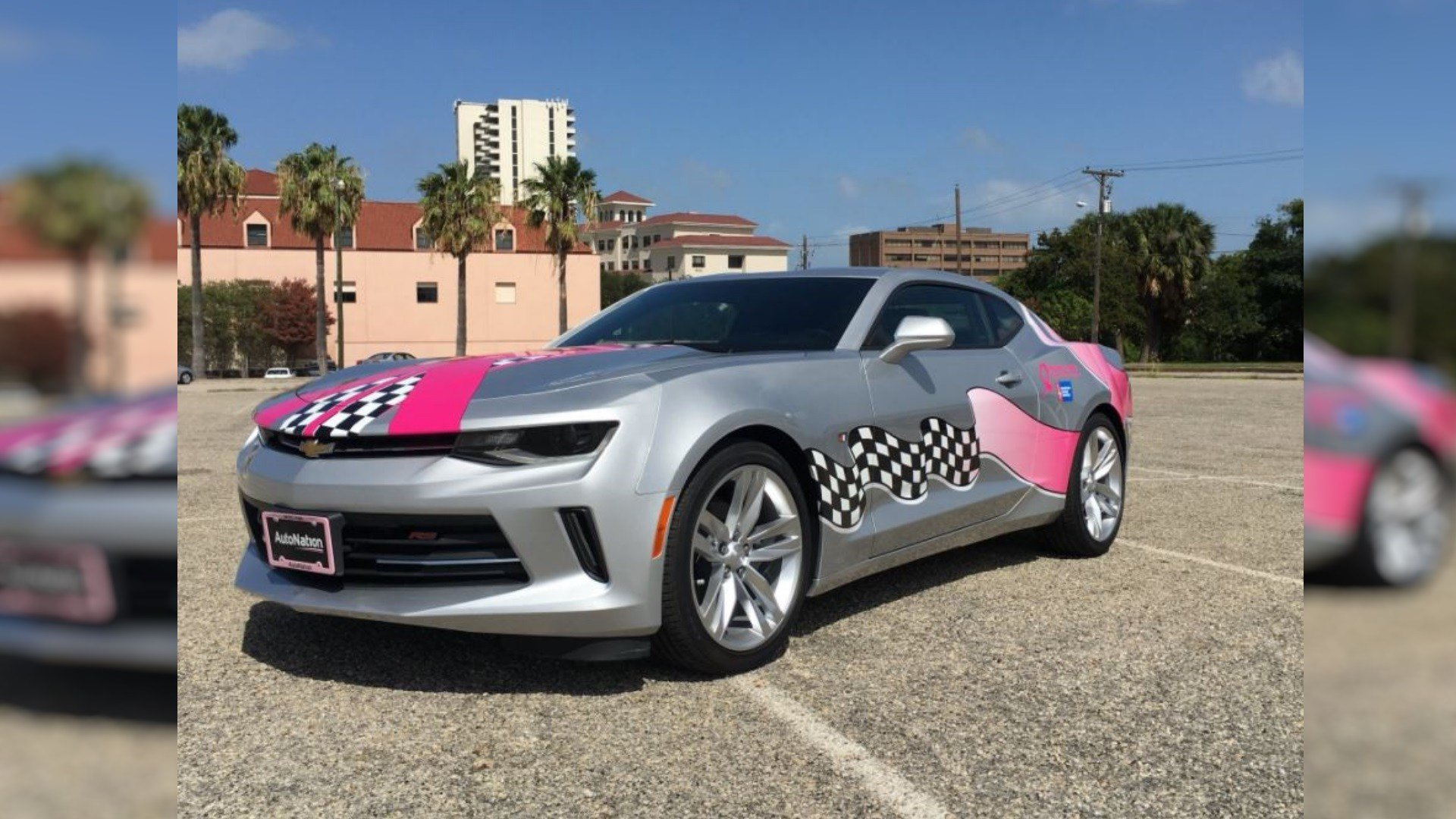 2017 'Making Strides' Chevy Camaro will be raffled off at Saturday's 'Making Strides Against Breast Cancer' walk/