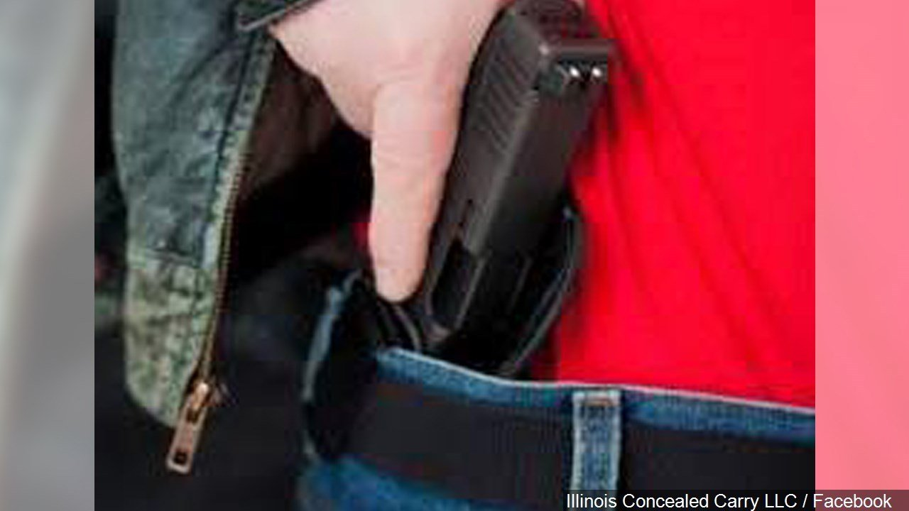 PHOTO: Inside the Waistband (IWB) Holster to Conceal Carry Firearms