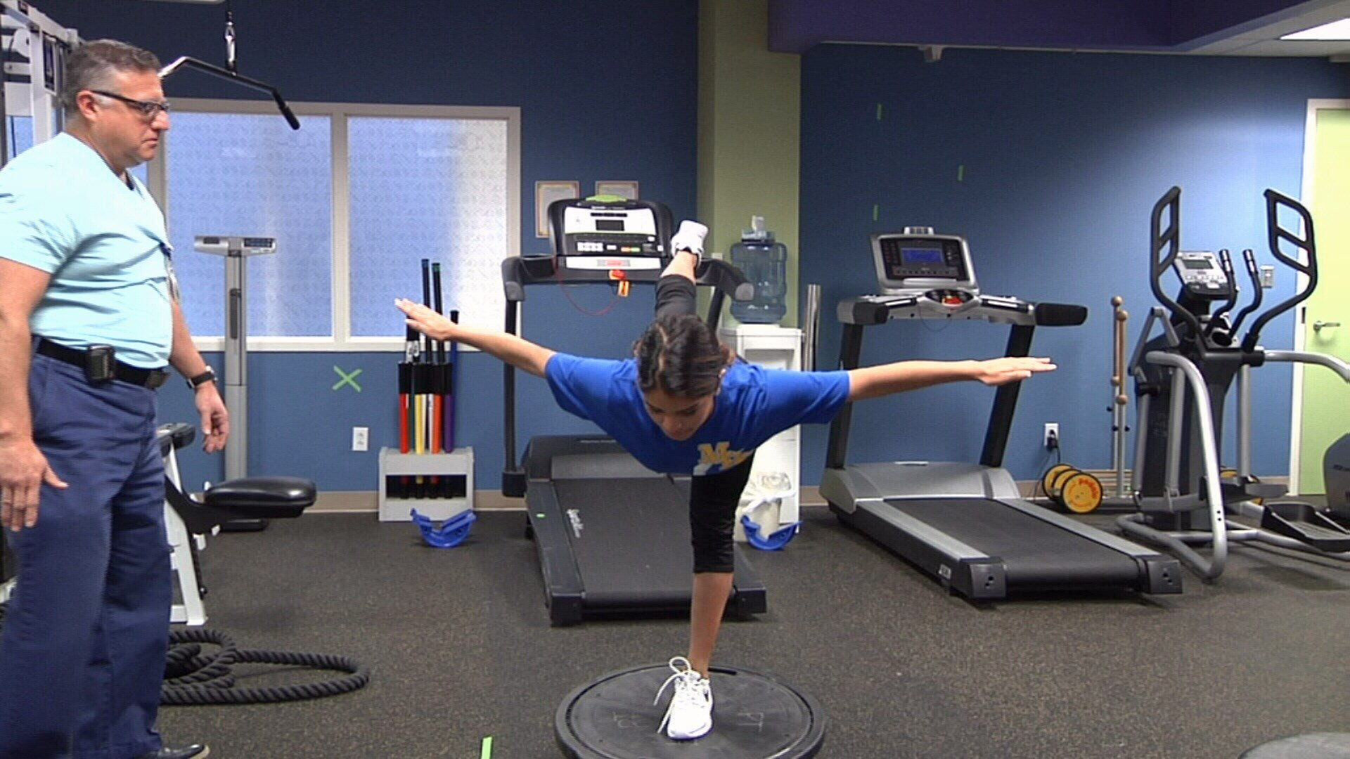 Driscoll Children's Hospital offers top-of-the-line sports rehab for athletes 0-21 years old.