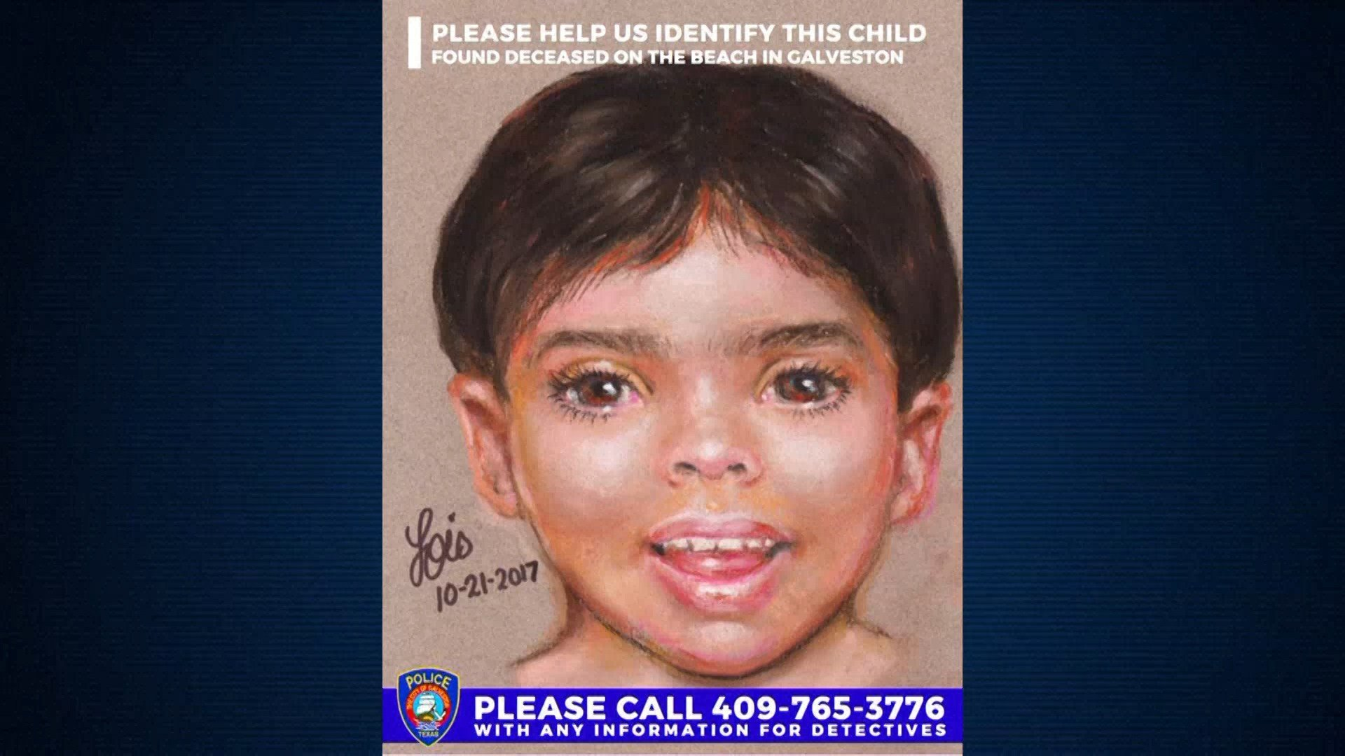Police Seek Help To Identify Dead Boy Found On Texas Beach