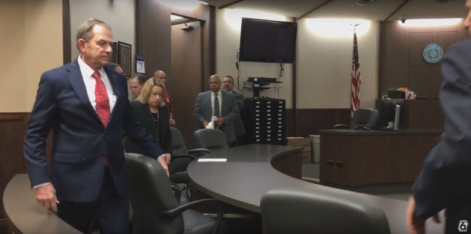 Judge Guy Williams will not face retrial for a felony count of aggravated assault with a deadly weapon. (File)