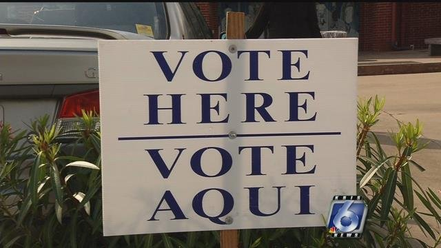 Voters head to the polls on Primary Election day in Texas.