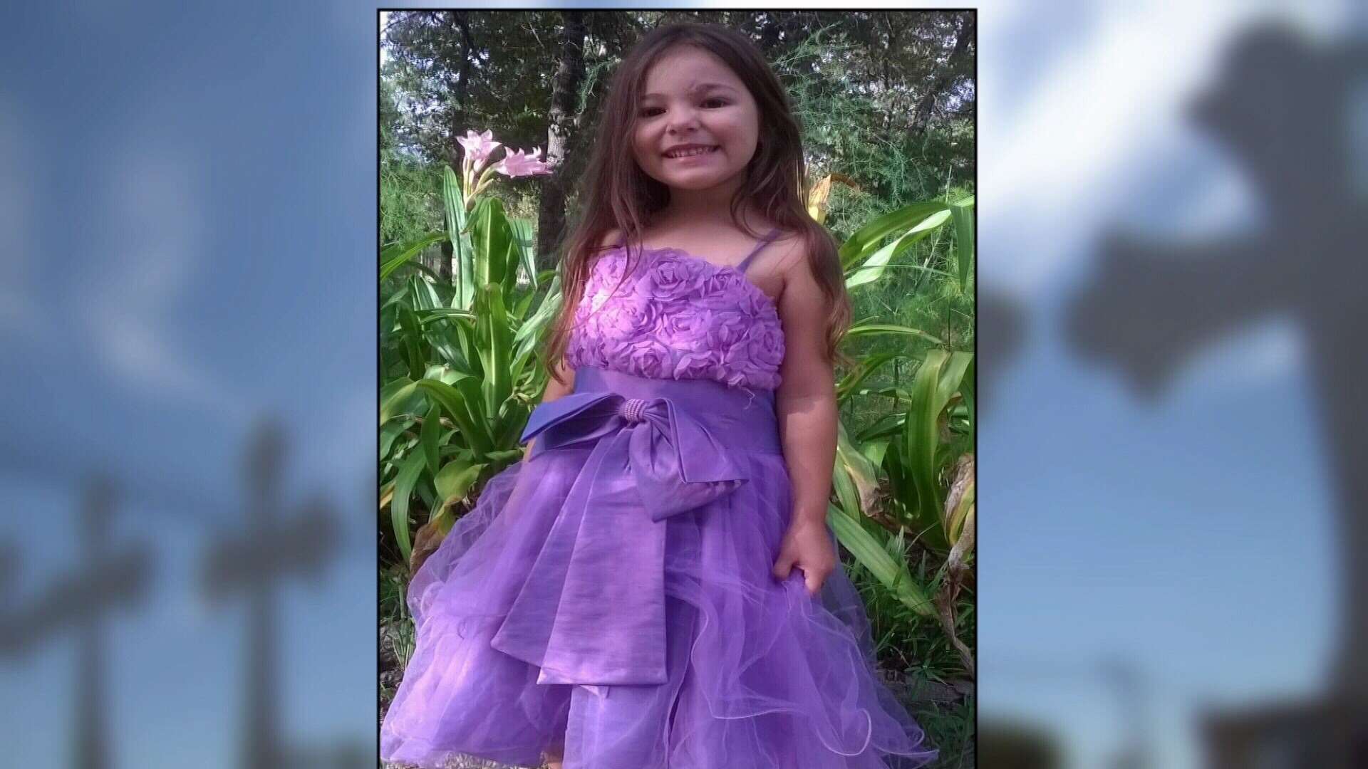 Six-year-old Zoe's pelvis was shattered by bullets. She has already had three operations since the shooting and faces more.