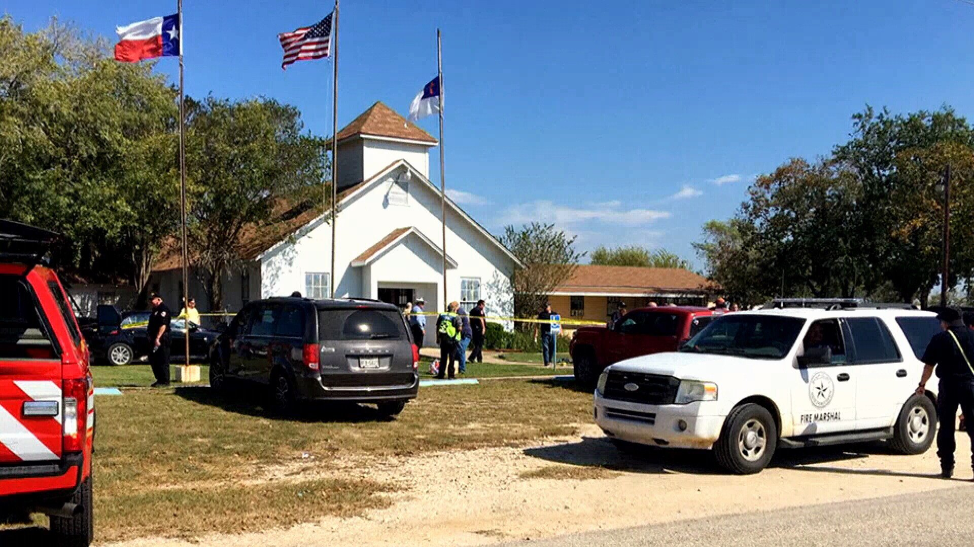 The surviving members of the the congregation in Sutherland Springs will come together for a Sunday service this weekend at the community, the first service since the mass shooting at their church.