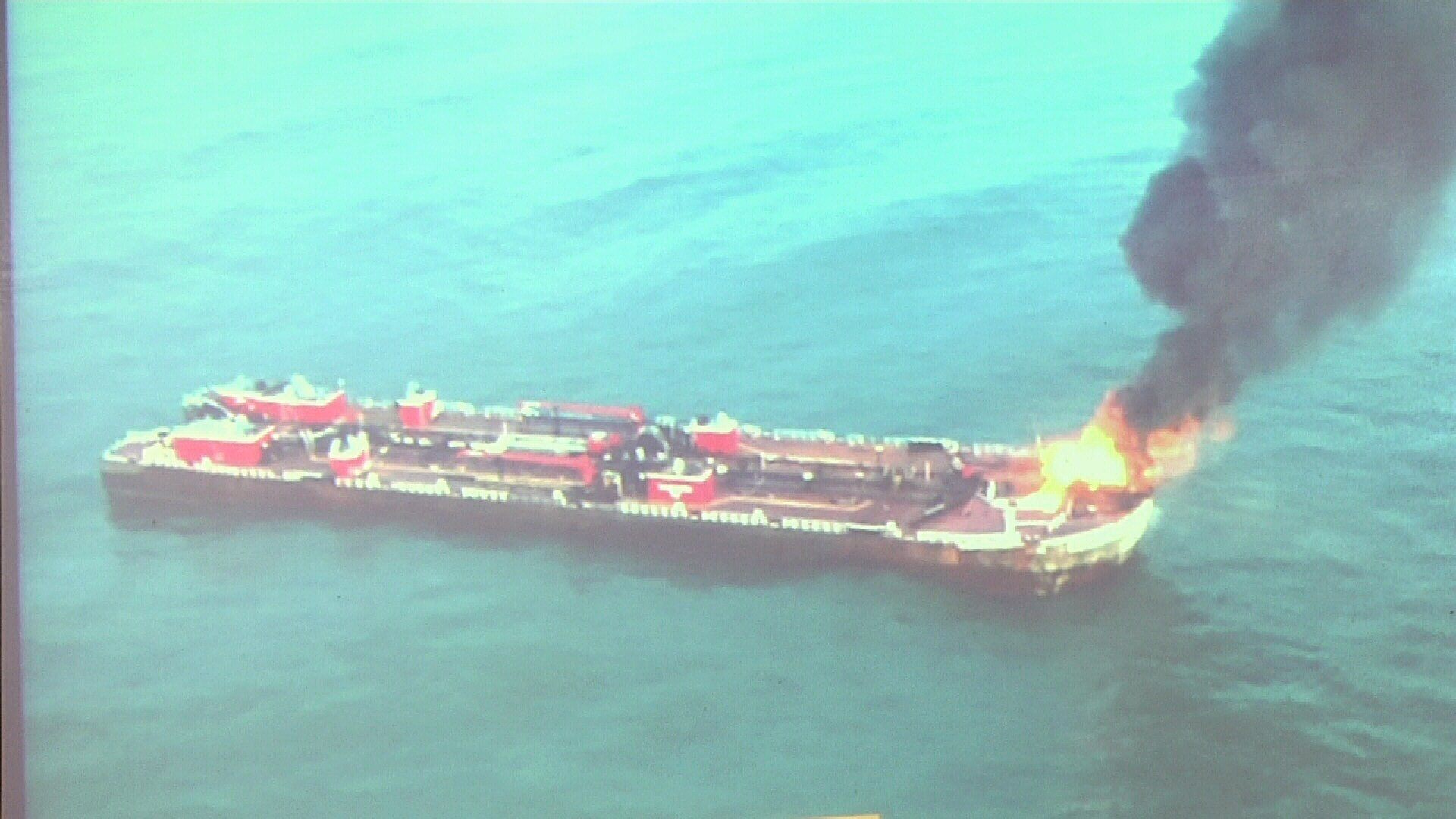 The Coast Guard briefs Port officials on what was done well and what could have been improved in the response to last month's barge explosion.