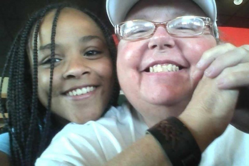 Aujuni Anderson (left) and her grandmother, Tamara Kindred (right). Both were killed in a car accident. Photo: GoFundMe
